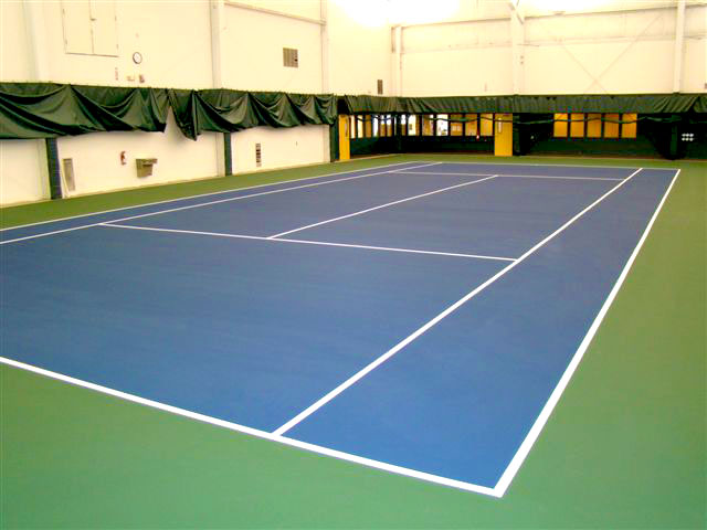 New Tennis Court Surface Color Nagle Athletic Surfaces