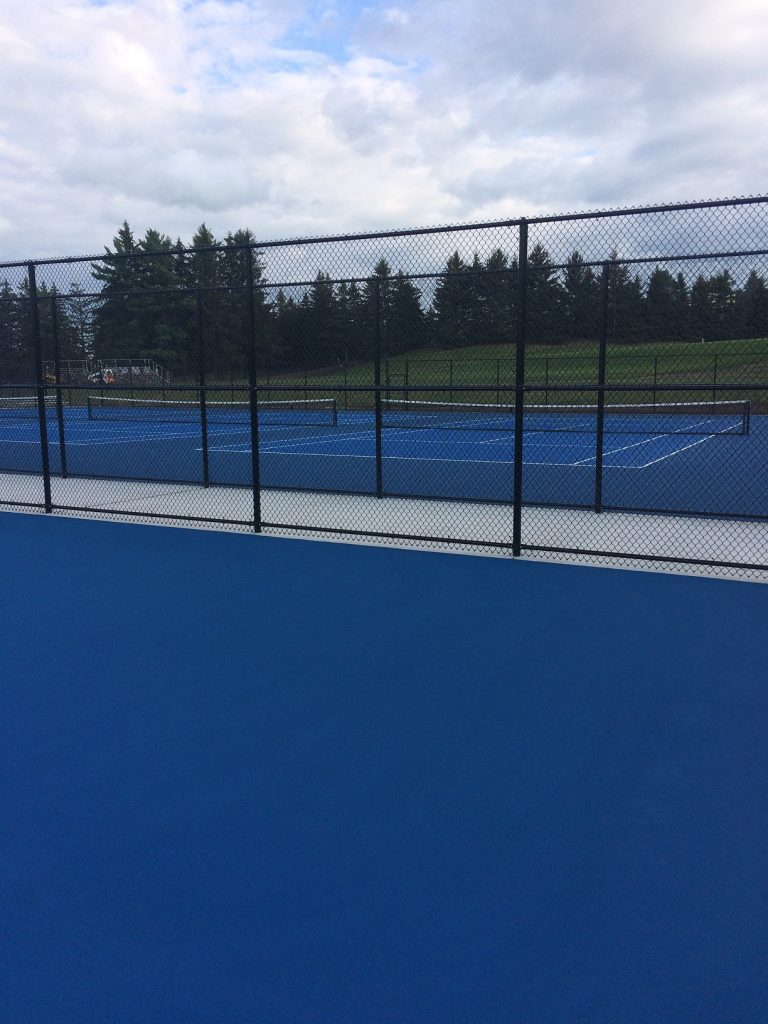 New Tennis Courts - Nagle Athletic Surfaces